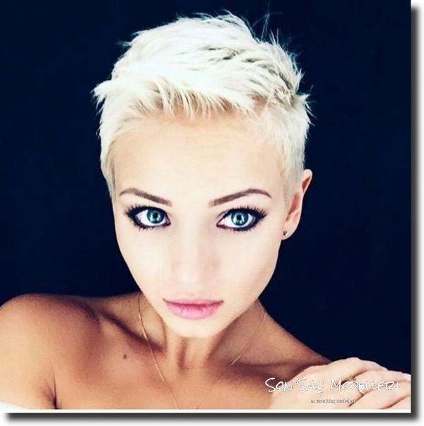 Kırpık Saç Modelleri (2)