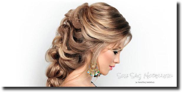 Stilinize Feminenlik Katacak Romantik Saç Modelleri (13)