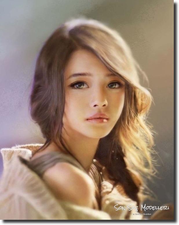Stilinize Feminenlik Katacak Romantik Saç Modelleri (17)