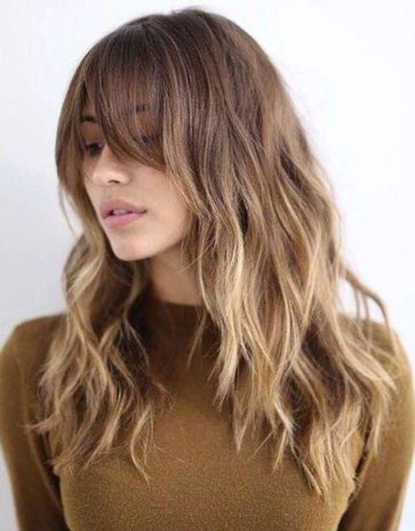 Perde Perçemler Saç Modeli 2019